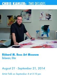 ROss Art Museum poster