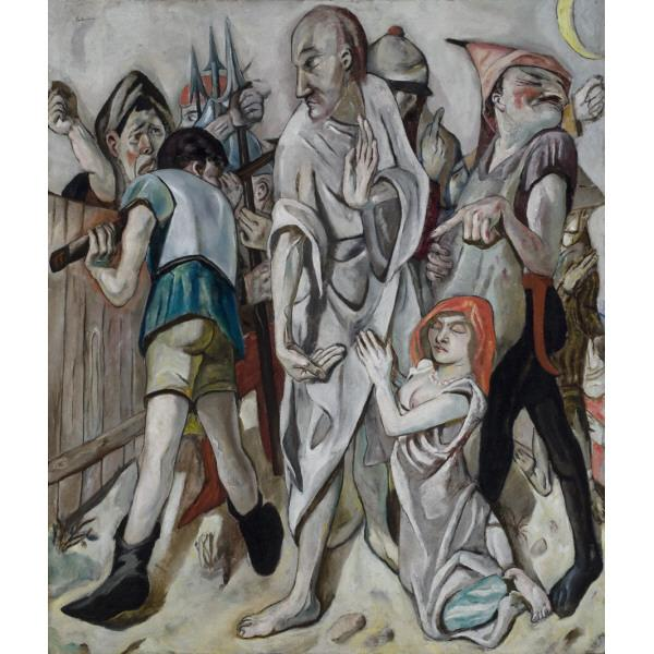 Christ and the Sinner Max Beckmann SLAM